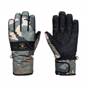 Go to the product Gloves DC Franchise british woodland camo 2017/2018