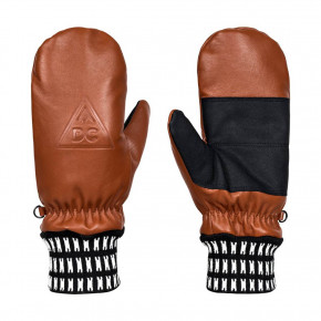 Go to the product Gloves DC Supply Mitt leather brown 2017/2018