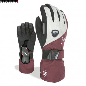Go to the product Gloves Level Wms Butterfly bordeaux 2018/2019