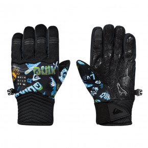 Go to the product Gloves Quiksilver Method Youth daphne blue/a day at the mount 2018/2019