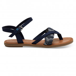 Go to the product Sandals Toms Lexie navy denim/chambray 2019