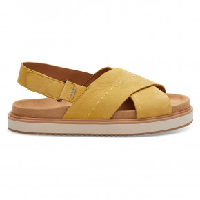 Go to the product Sandals Toms Marisa electric yellow nubuc 2019