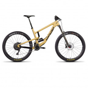 "Go to the product Santa Cruz Nomad 4 C Xe-Kit 11G Coil 27"" gloss tan/black 2018"