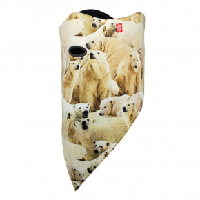 Przejść do produktu Chusta Airhole Facemask 2 Layer polar bears 2018/2019