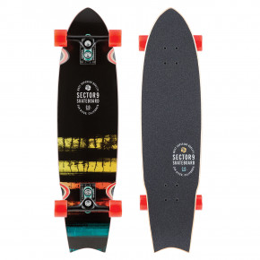 "Go to the product Longboard Sector 9 Rainbow Unagi 35"" 2018"