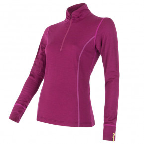 Go to the product Top Sensor Merino Active Zip Women's lilla 2020/2021