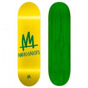 Go to the product Skate decks Ambassadors High Mark-T Yellow 8.0 2019