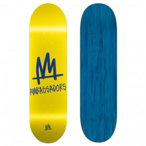 Go to the product Skate decks Ambassadors High Mark-T Yellow 8.25 2019
