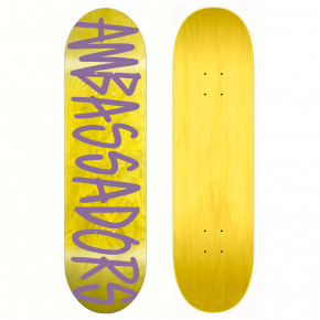 Go to the product Skate decks Ambassadors High Script LT Blue 8.125 2019