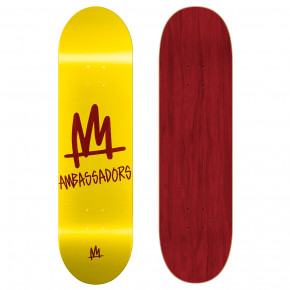 Go to the product Skate decks Ambassadors Medium Mark-T Yellow 7.875 2019