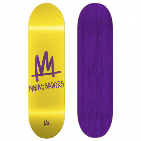 Go to the product Skate decks Ambassadors Medium Mark-T Yellow 8.125 2019