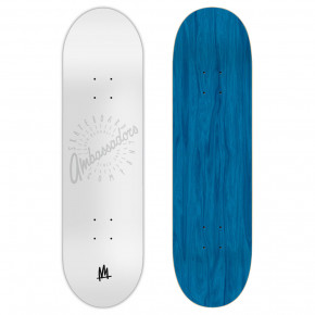 Go to the product Skate decks Ambassadors Medium Spin Shadow White 7.875 2019