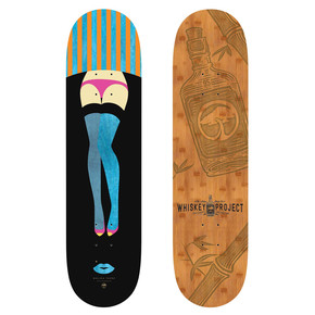 Go to the product Skate board Arbor Whiskey 8.0 Legs 2017