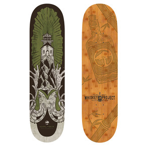 Go to the product Skate board Arbor Whiskey 8.0 Squid 2017