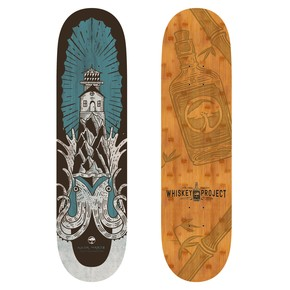Go to the product Skate board Arbor Whiskey 8.25 Squid 2017
