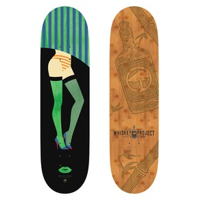Go to the product Skate board Arbor Whiskey 8.5 Legs 2017