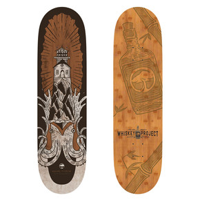 Go to the product Skate board Arbor Whiskey 8.5 Squid 2017