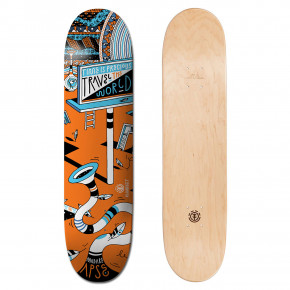 Go to the product Skate decks Element Positive Billboards madars billboard 8.25 2018