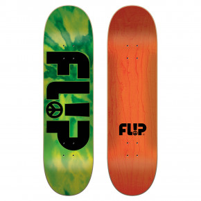 Go to the product Skate decks Flip Odyssey Peace green 8.25 2018