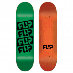 Go to the product Skate decks Flip Quattro Odyssey green 8.25 2018