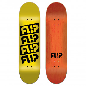 Go to the product Skate decks Flip Quattro Odyssey yellow 8.13 2018