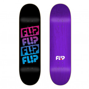 Go to the product Skate decks Flip Team Quattro black 8.0 2020