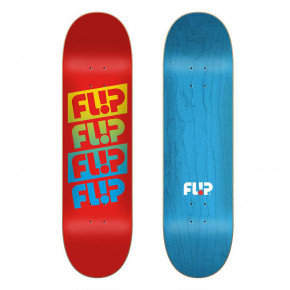 Go to the product Skate decks Flip Team Quattro red 7.75 2020