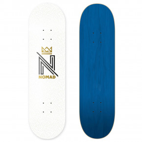 Go to the product Skate decks Nomad Og Logo White 8.5 2020