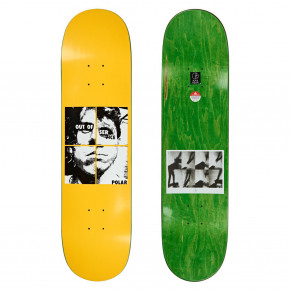 Go to the product Skate decks Polar Dane Brady out of service yellow 8.0 2020