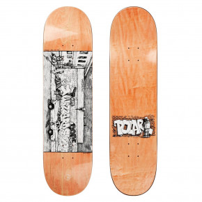 Go to the product Skate decks Polar Team straight from the hood 8.25 2018