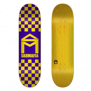 Go to the product Skate decks Sk8Mafia Checker purple 8.1 2020