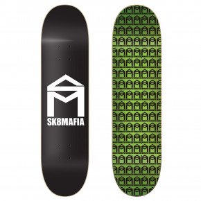 Go to the product Skate decks Sk8Mafia House Logo black 8.0 2019