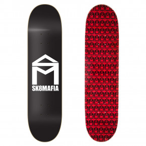 Go to the product Skate board Sk8Mafia House Logo black 8.0 2018