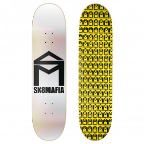 Go to the product Skate decks Sk8Mafia House Logo chrome foil 8.6 2018