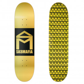 Go to the product Skate board Sk8Mafia House Logo gold double dip 8.0 2018