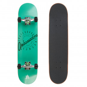 Go to the product Skateboard Ambassadors Spin Turquoise Shadow 7.63 2018