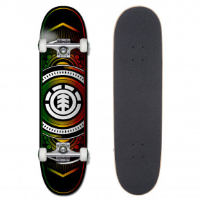 Go to the product Skateboard Element Hatched Rasta 8.0 2018