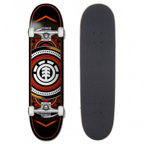 Go to the product Skateboard Element Hatched Red 8.0 2018