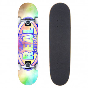Go to the product Skateboard Real Oval Tie Dyes 7.3 2020