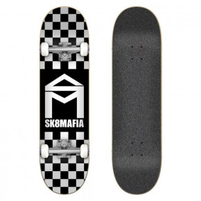 Przejść do produktu Deskorolka Sk8Mafia House Logo checker black 7.87 2019