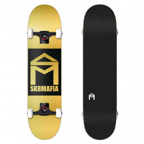 Go to the product Skateboard Sk8Mafia House Logo gold double dip 8.0 2018