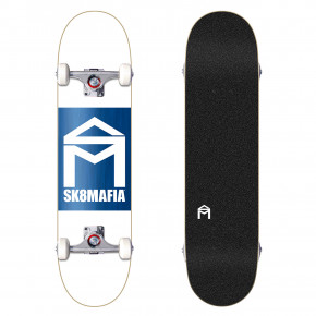 Go to the product Skateboard Sk8Mafia House Logo wht double dip asrtd stains 7.87 2018