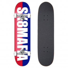 Go to the product Skateboard Sk8Mafia Og Logo split white 7.87 2019