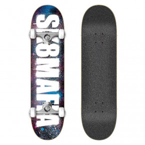 Go to the product Skateboard Sk8Mafia OG Logo Stencil Pink&blue 8.0 2020