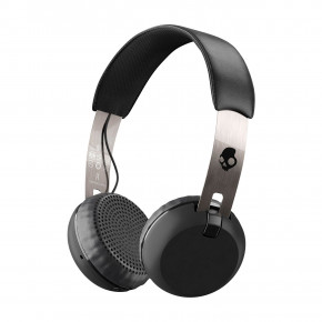 Go to the product Headphones Skullcandy Grind Wireless black/chrome/black 2017/2018