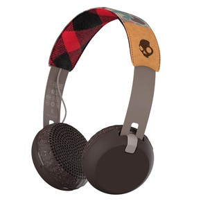 Go to the product Headphones Skullcandy Grind Wireless grey/plaid 2016/2017