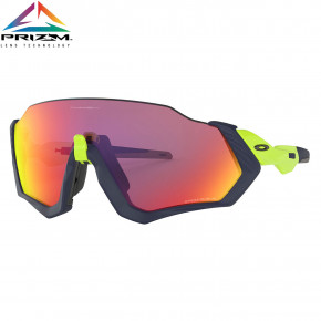 Go to the product Sunglasses Oakley Flight Jacket matte navy/retina burn 2018