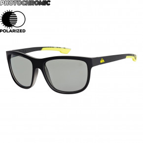 Go to the product Sunglasses Quiksilver Crusader Polar Photochromic matte black hexa print 2019