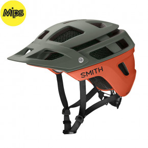 Go to the product Helmet Smith Forefront 2 Mips matte sage/red rock 2020
