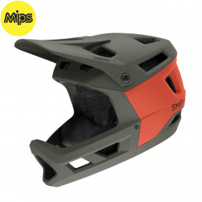 Go to the product Helmet Smith Mainline Mips matte sage red rock 2020
